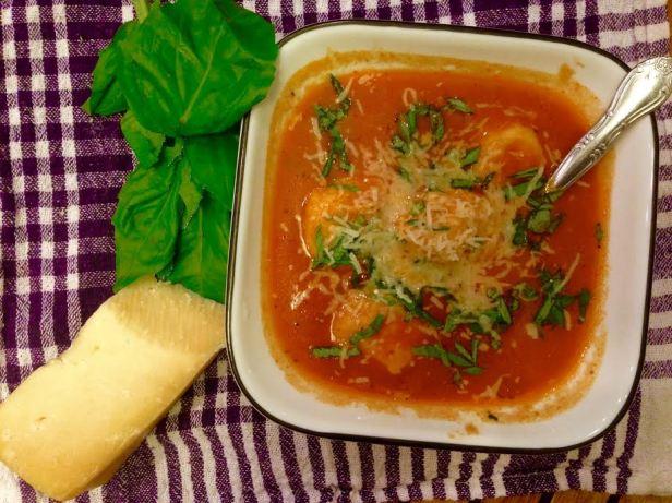 Ricotta Gnudi Soup